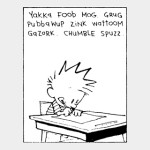 Calvin writes it - you sing it